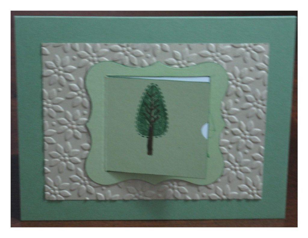 Trendy Trees, Peekaboo Frames die