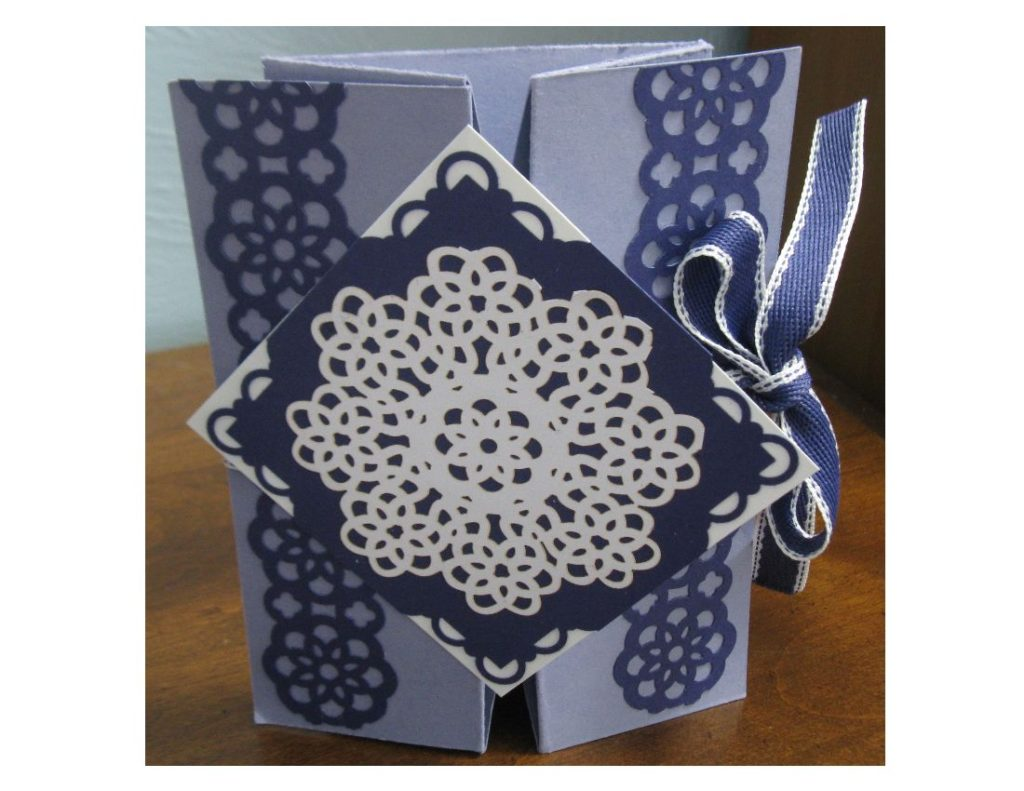 Wisteria Card Box