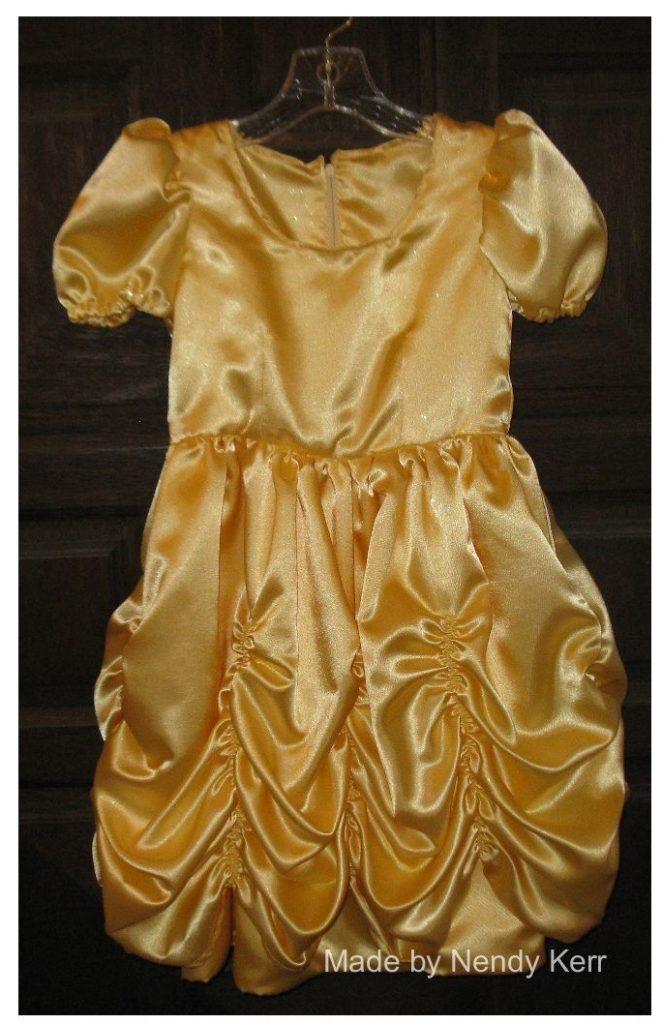 A beautiful princess dress