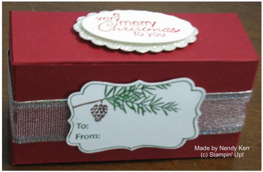 Fancy Favor Merry Christmas