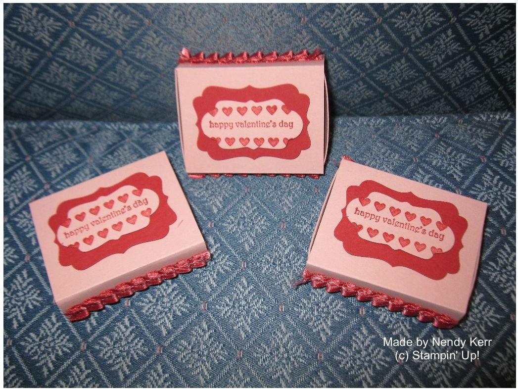 Valentine Matchbox