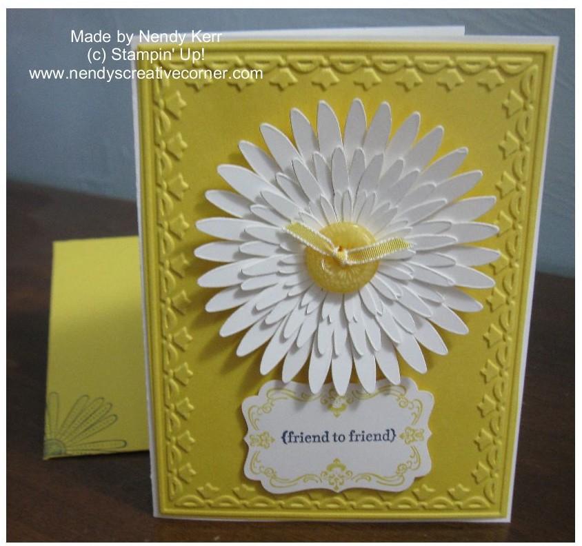 Daisy in White & Daffodil Delight