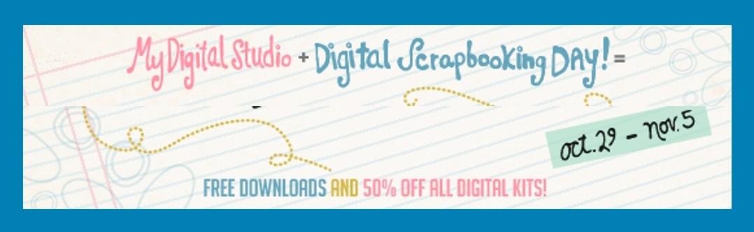 2012 Digital Scrapbooking Week Sale