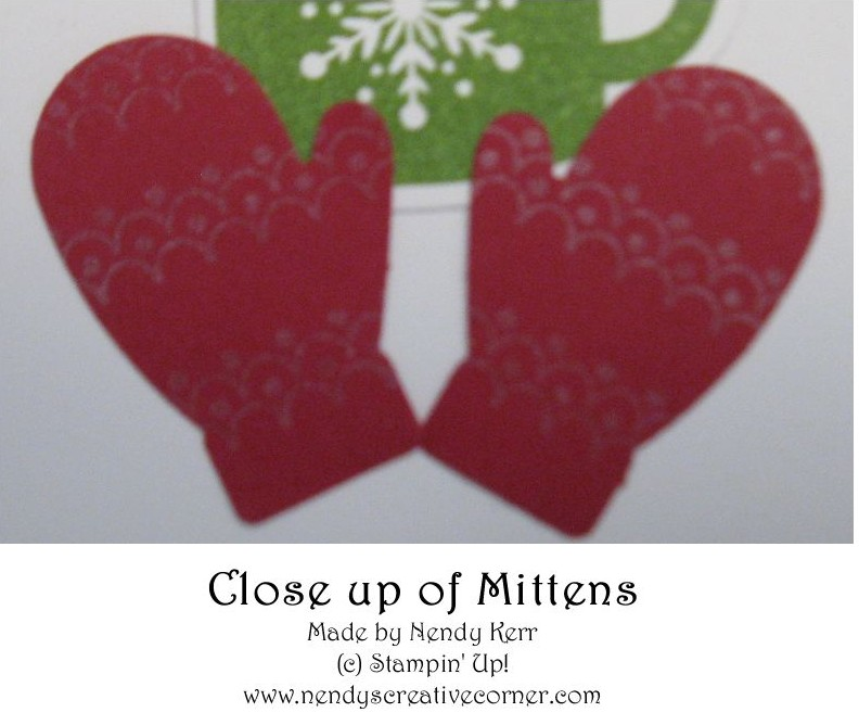 Mittens & Hot Chocolate-Close up