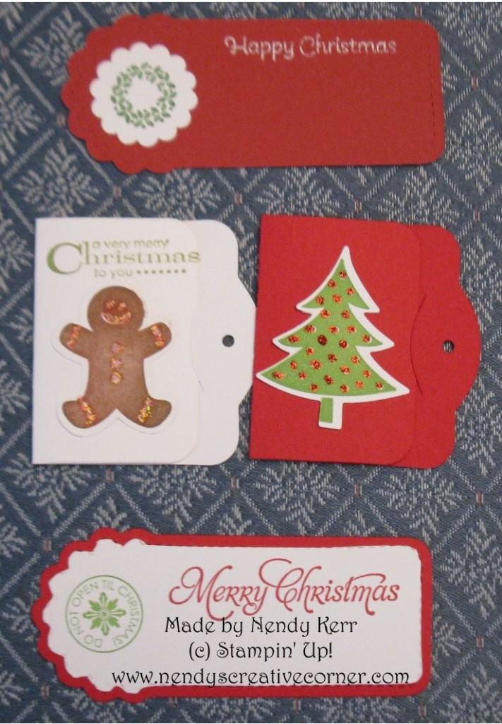 Christmas Two Tags