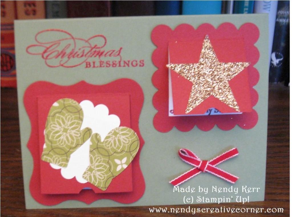 Peekaboo Frames Christmas Card-Closed