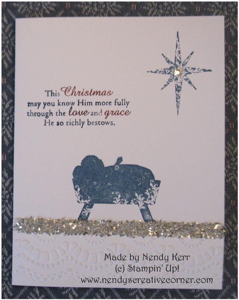 Sparkly Christmas Card
