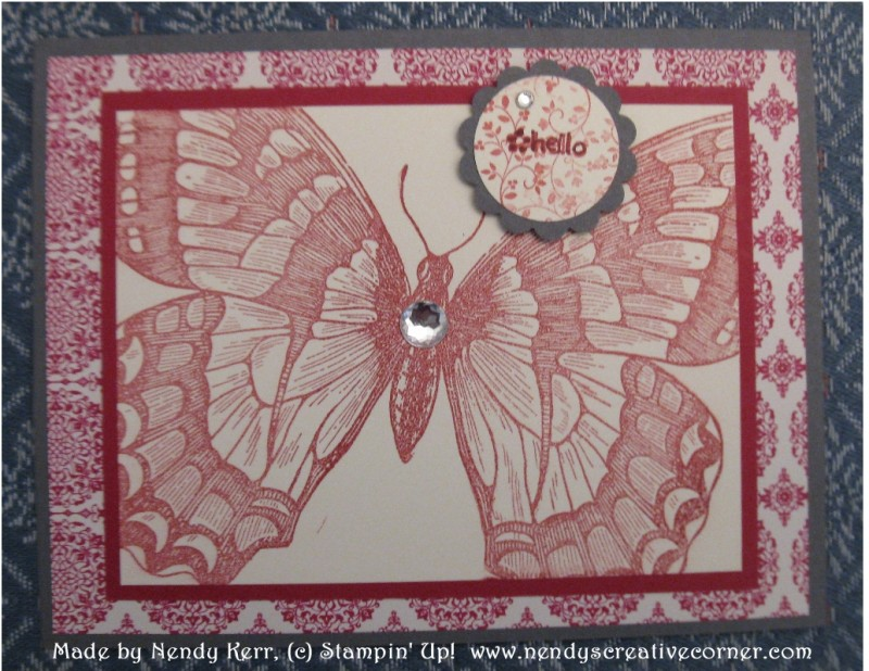 Swallowtail Butterfly Card