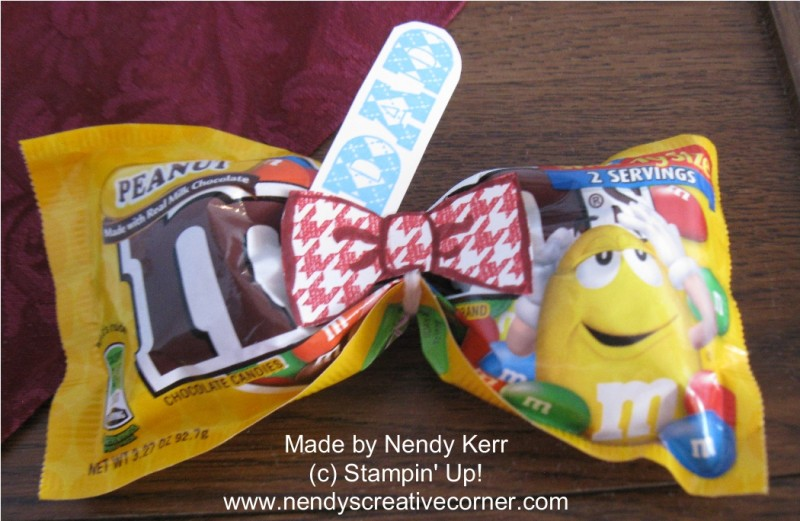 M&M Bow Tie for your Guy and Father's Day
