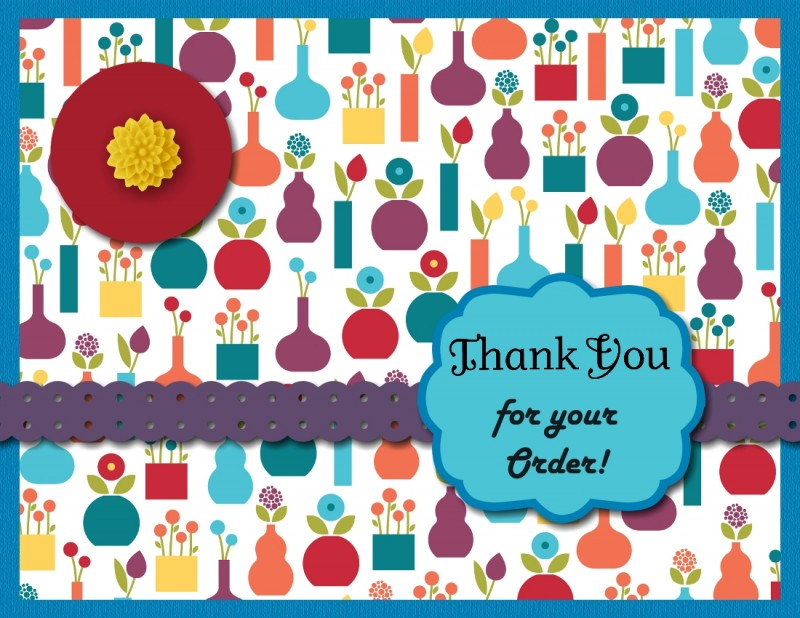MDS Summer Smooches Thank You Card