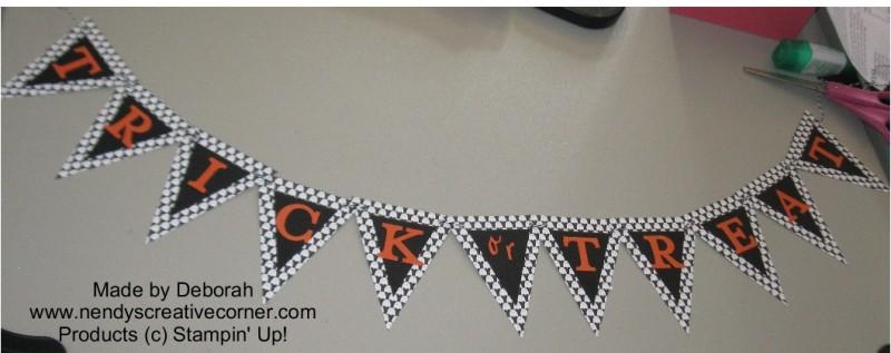 Deborah's Ghost Trick or Treat Banner