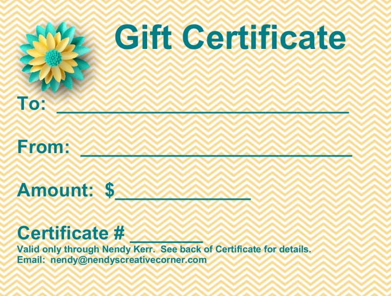 Purchase a Gift Certificate Today!