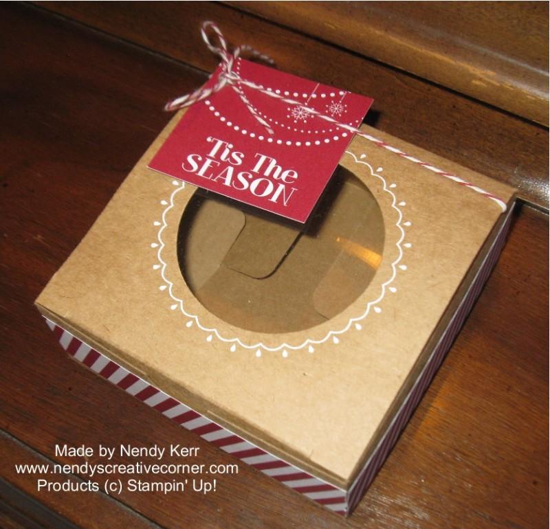 Christmas Decorative Window Box