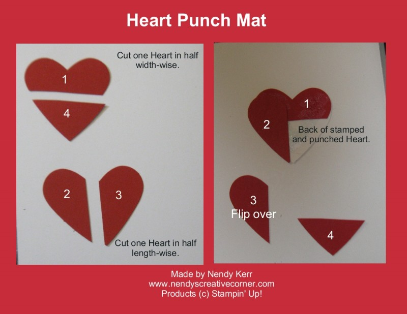 Make a Mat for your Heart Punch