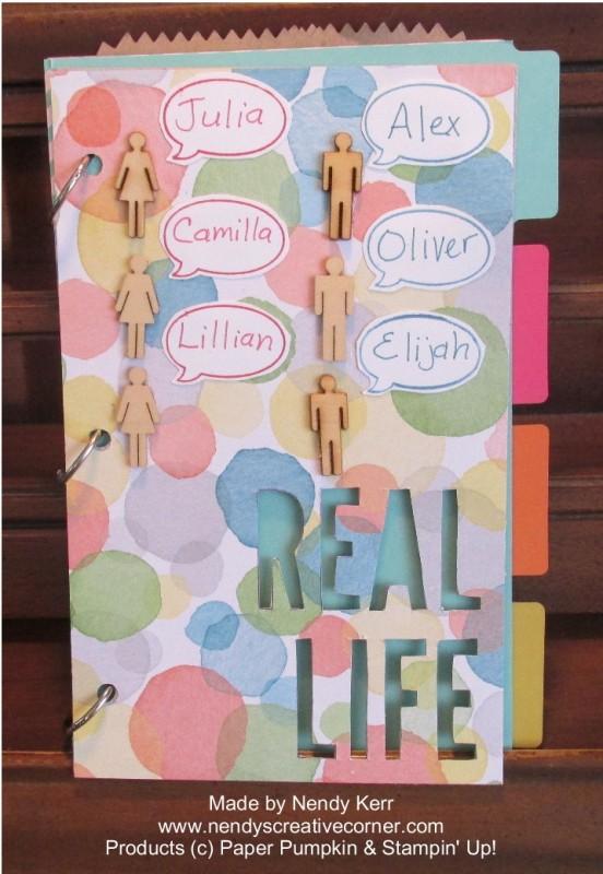 Paper Pumpkin Real Life Scrapbook Album