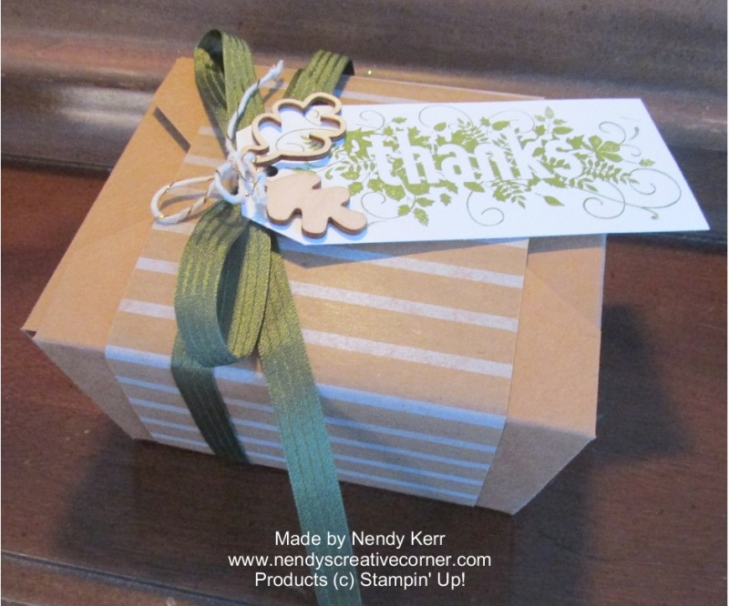 Thanks Takeout Gift Box
