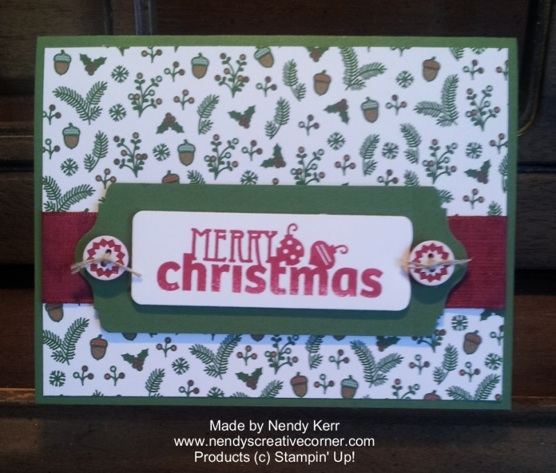 Nordic Merry Christmas Card