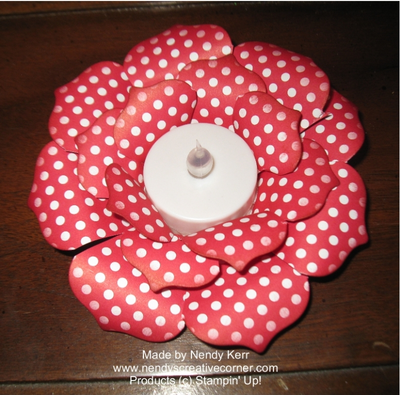 Tealight Flower