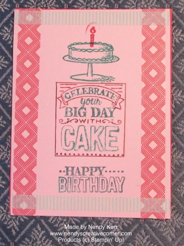 Big Day Birthday Card