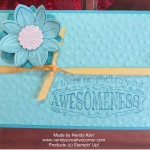 Awesome Petal Potpourri Flower Card