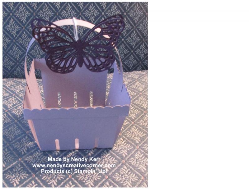 Butterfly Berry Basket