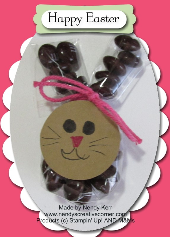 M&M Easter Bunny