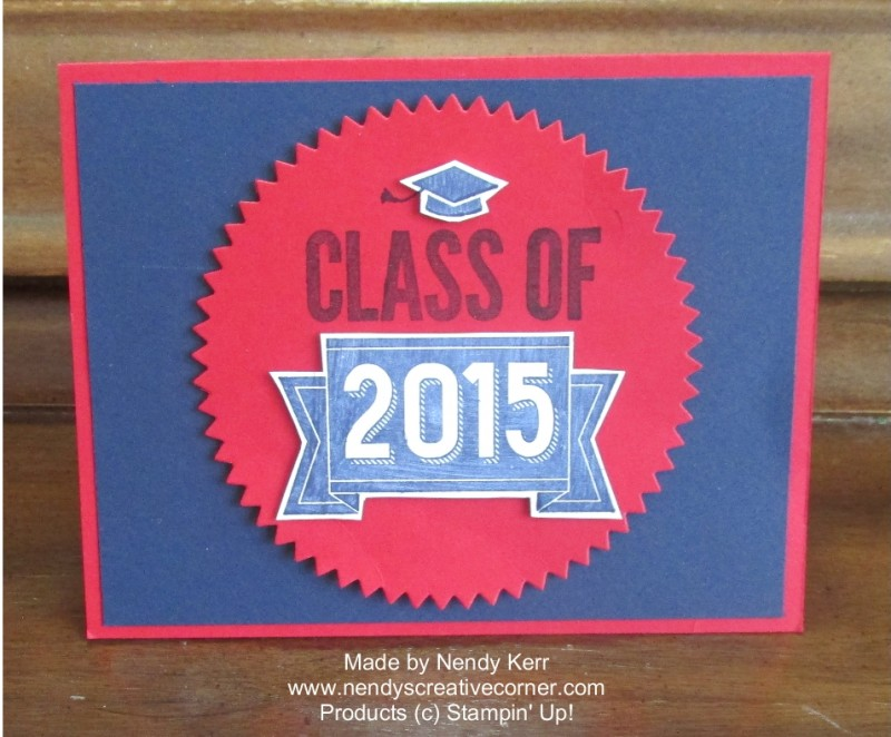2015 Graduation Card