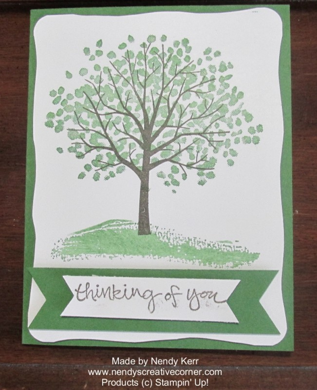 Quick Sheltering Tree Card