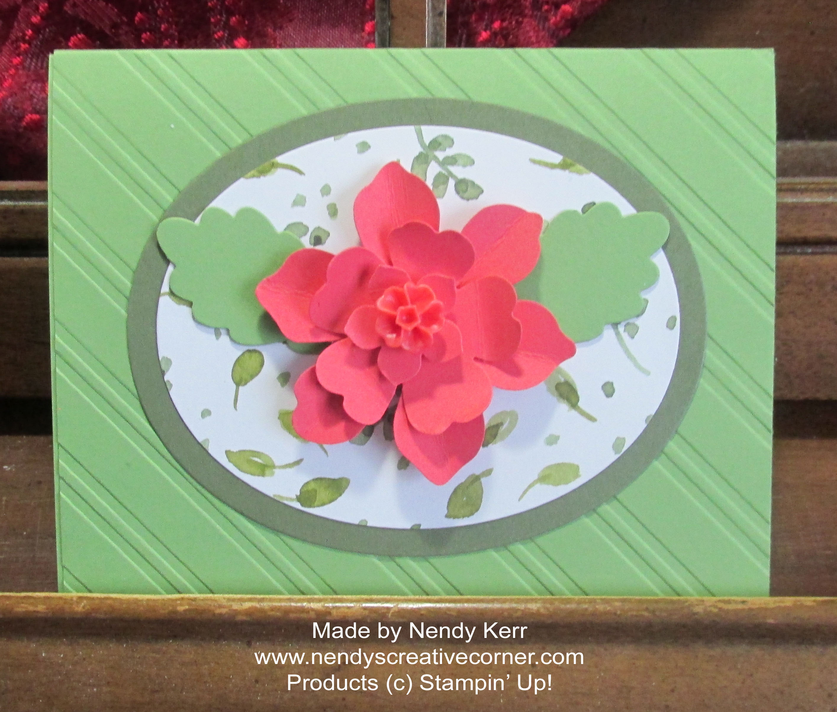 3 Punch Flower Card