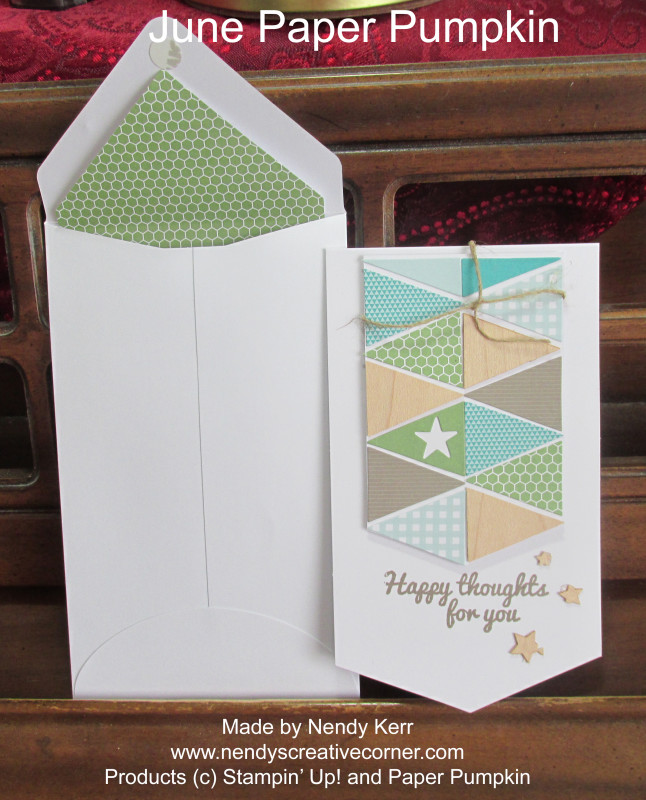 June Paper Pumpkin Card 2