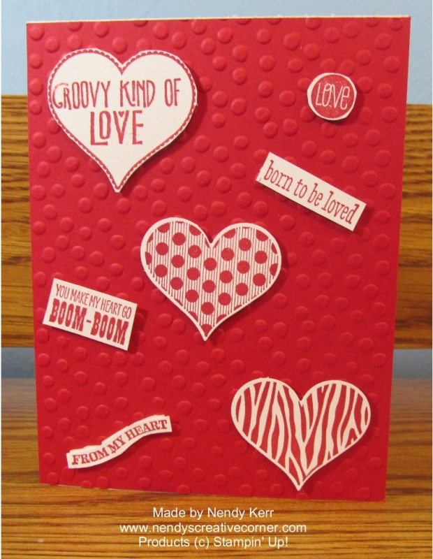 Groovy Love Valentine Card