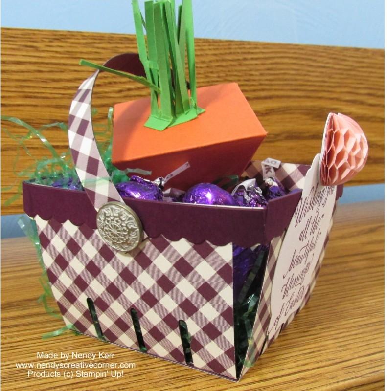 Easter Basket Carrot