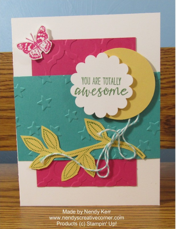Totally Awesome Grateful Bunch Card