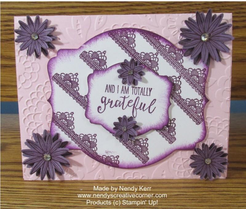 Grateful Bunch Flower Card