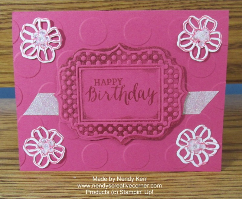 Rose Wonder Birthday card