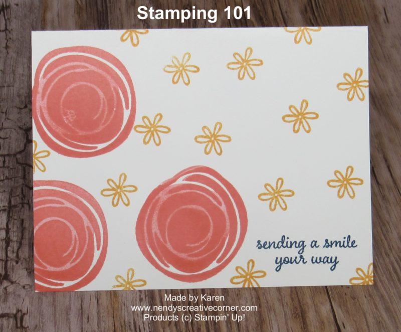 Karen's Stamping 101 Card