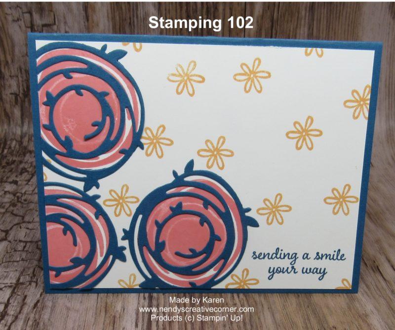 Karens Stamping 102 Card