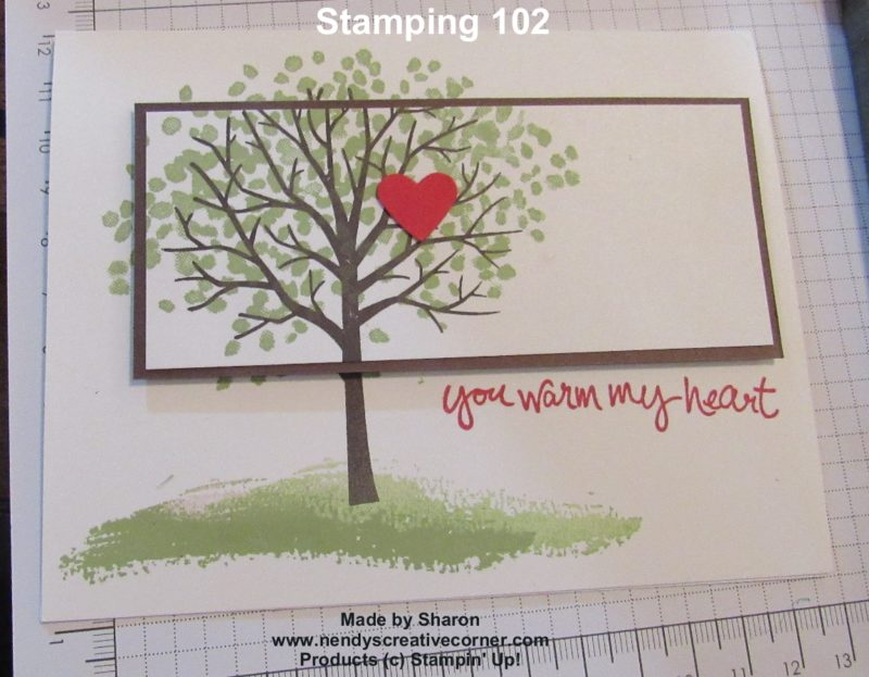Sharons Stamping 102 Card