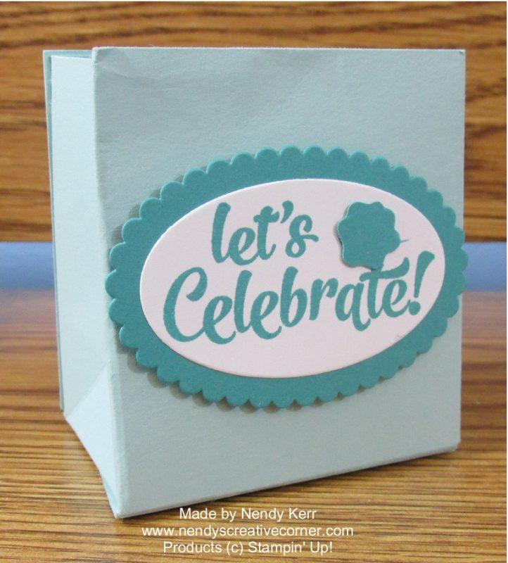 Celebrate Favor Bag