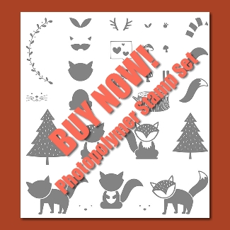 Buy the Foxy Friends Stamp Set HERE.