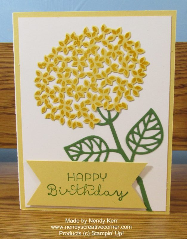 Thoughtful Branches Flower Birthday Card