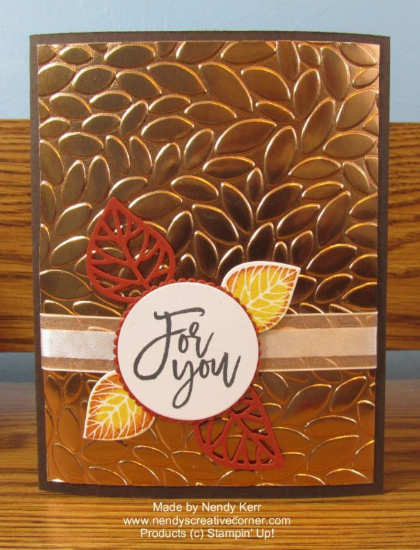 Thoughtful Branches Copper For You Card
