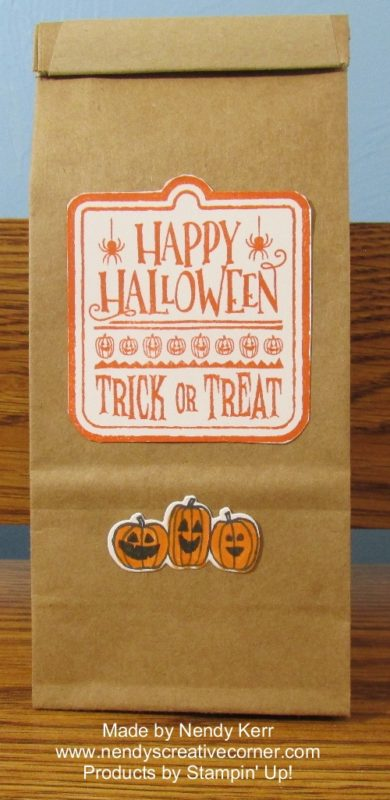 Happy Halloween Treat Bag