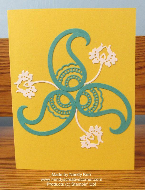 Paisley & flower card