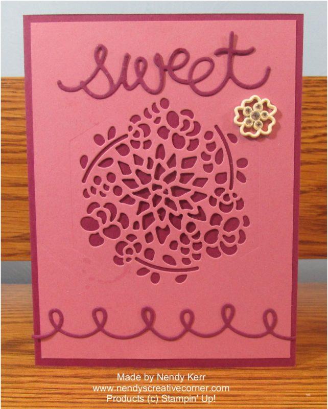 Sweet Flower Card