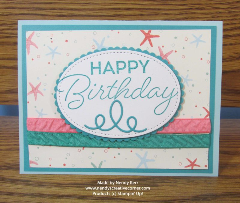 By the Shore Birthday Card, Bermuda Bay Birthday Card