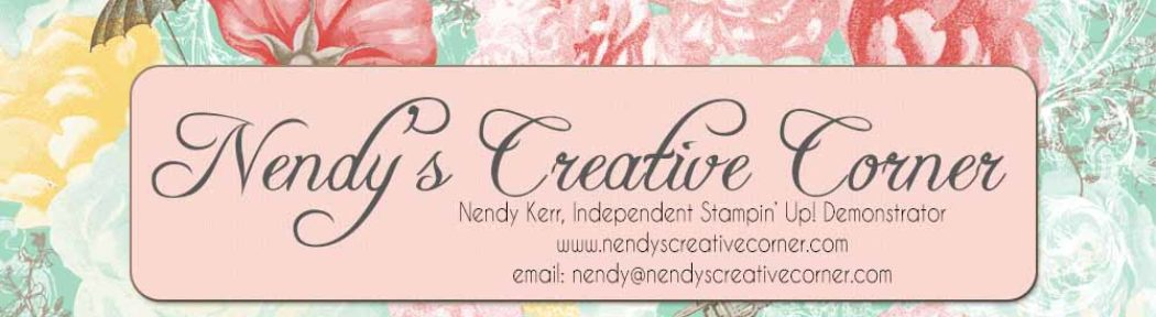 Nendy's Creative Corner – A Card Making Blog