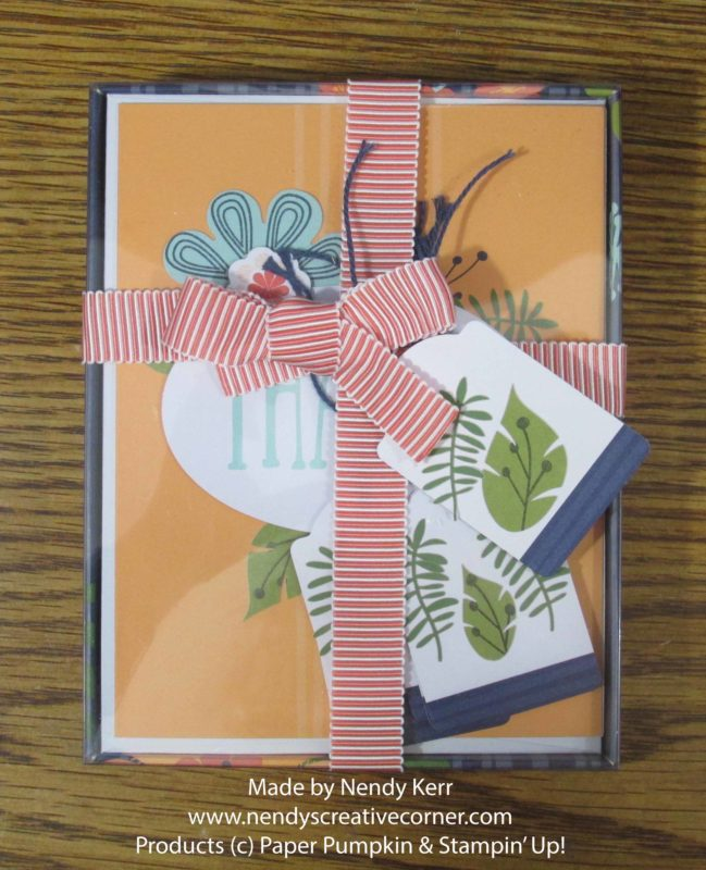 August Paper Pumpkin Boxed Cards and Tags