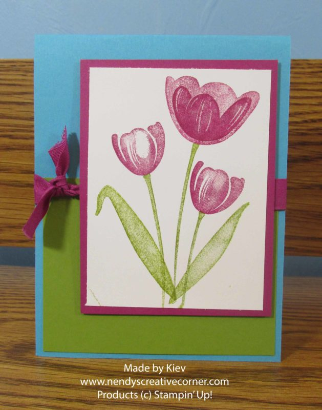 Three Tuplips Card