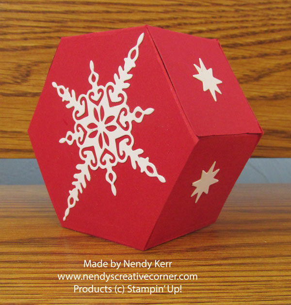 Starlight Hexagon Window Box